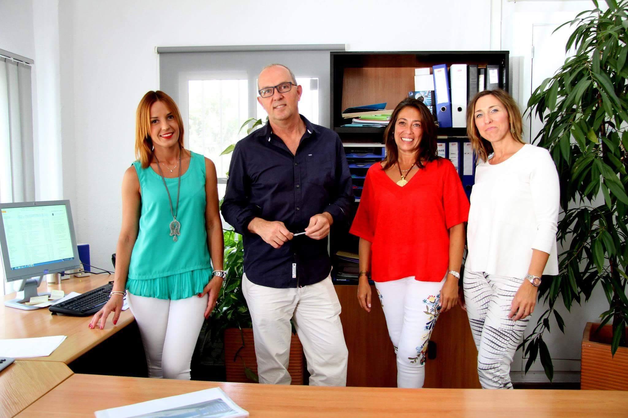 Nuestro equipo en Zahara Villas